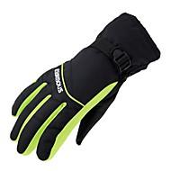Luvas de Esqui Unisexo Dedo Total Manter Quente Cobertura Esqui Equitação Exercicio Exterior Ciclismo / Moto Inverno