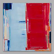 billiga Oljemålningar-Hang målad oljemålning HANDMÅLAD - Abstrakt Artistisk Duk