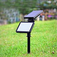baratos Focos-1pç 4.5 W Luzes do gramado Decorativa Branco Natural Iluminação Externa 48 Contas LED