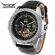 Jaragar Homens Relógio Casual Relógio de Moda Relógio Elegante Relógio de Pulso Automático - da corda automáticamente Calendário Couro