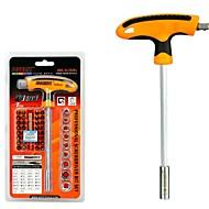billige Håndværktøj-41 i 1 bil reparationsværktøj kits skruetrækker sæt torx stik kit t-håndtag arbejdsbesparende ferramenter herramientas håndværktøj