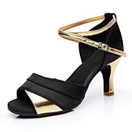 """baratos Sapatilhas de Dança-Feminino Latina Materiais Customizados Salto Interior Salto Personalizado Dourado Prata Vermelho 2 """"- 2 3/4"""" Personalizável"""