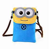 Infantil Bolsas Outono Pêlo Bolsas Kids ' Ziper para Casual Azul Dourado Azul Escuro Amarelo