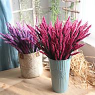 billige Kunstig Blomst-Kunstige blomster 10 Afdeling Europæisk Lyseblå Bordblomst