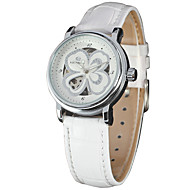 FORSINING Dámské Hodinky na běžné nošení Módní hodinky Náramkové hodinky Automatické natahování Pravá kůže Kapela Na běžné nošení Cool