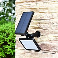 1つの1太陽光発電のLEDの風景の照明防水屋外の壁のスポットライトドライブウェイ芝生の通路の庭の木の旗