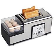 Χαμηλού Κόστους Ξεπούλημα-Αρτοπαρασκευαστής Πολυλειτουργία Ανοξείδωτο Ατσάλι Τοστιέρες 220-240 V 850 W Συσκευή κουζίνας