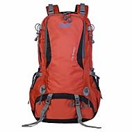 男性 バッグ ポリエステル スポーツ&レジャーバッグ ジッパー のために 登山 オールシーズン ブルー ブラック オレンジ パープル