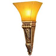 billige Vegglamper-Rustikk / Hytte / Land / Traditionel / Klassisk Vegglamper Harpiks Vegglampe 220V / 110V 40W