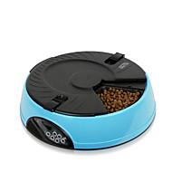 犬 フィーダ ペット用 ボウル&摂食 自動 イエロー ブルー ピンク