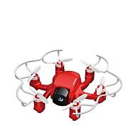 RC Drone FQ777 FQ777-126C 4 Kanal 6 Eksen 2.4G 2.0MP HD Kameralı RC 4 Pervaneli Helikopter LED Aydınlatma Dönüş Için Tek Anahtar Başsız
