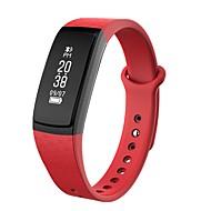 tanie Inteligentne zegarki-Inteligentne Bransoletka Spalone kalorie Krokomierze Rejestr ćwiczeń Kontrola APP Ekran dotykowy Pulse Tracker Krokomierz Rejestrator