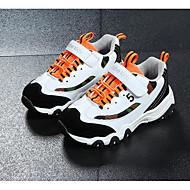 baratos Sapatos de Menino-Para Meninos Sapatos Pele Nobuck Outono / Inverno Conforto Tênis Corrida para Branco / Preto