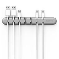 orico cbs7 desktop organizator cablu silicon sârmă suport clip