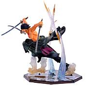 Anime Akcijske figure Inspirirana One Piece Roronoa Zoro PVC 13 CM Model Igračke Doll igračkama
