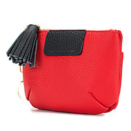 Women Bags Cowhide Coin Purse Zipper for Casual Outdoor All Season Gray Red Black Green Blue