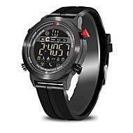 tanie Inteligentne zegarki-Inteligentny zegarek Współpracuje z iOS i system Android. Spalone kalorie Krokomierze Powiadamianie o wiadomości Powiadamianie o