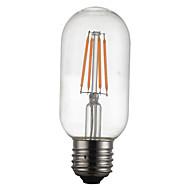 4w e27 led-hehkulamppuja t45 4 leds kromi koriste himmennettävä lämmin valkoinen 300-350lm 2300-2700k ac 220-240v