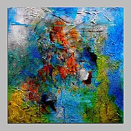 Maalattu Abstrakti Moderni Kanvas Hang-Painted öljymaalaus Kodinsisustus 1 paneeli