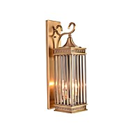 billige Vegglamper-ZHISHU Mini Stil / Vanntett Retro / vintage / Traditionel / Klassisk Vegglamper Have / Sti Metall Vegglampe IP54 110-120V / 220-240V 5W