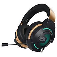 EH736 Pandebånd Ledning Hovedtelefoner Dynamisk Plast Gaming øretelefon Med Mikrofon / Med volumenkontrol Headset