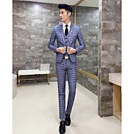 odijela Muškarci Karirani uzorak, Klasični rever