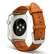 Urrem for Apple Watch Series 3 / 2 / 1 Apple Håndledsrem Klassisk spænde Ægte læder