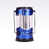 お買い得  フラッシュライト/キャンプ用ランタン-ランタン&テントライト LED 200 lm 自動 モード LED フォームフィット ブルー