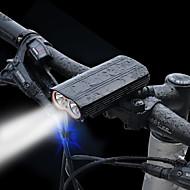Φως LED Τσιπ LED Μπροστινό φως ποδηλάτου LED XM-L2 T6 Ποδηλασία Προστασία υπερθέρμανσης Ανθεκτικό στο Νερό Γρηγορη Απελευθέρωση Ένδειξη