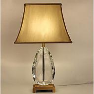 Alavalot Taiteellinen Pöytälamppu Silmäsuoja Päälle/pois -kytkin AC-virtalähde 220V Tumman keltainen