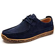 Muškarci Cipele Orlon akrilna vlakna Proljeće Jesen Udobne cipele Sneakers za Kauzalni Ured i karijera Plava Žutomrk Burgundac