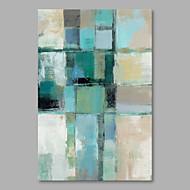 baratos -Pintados à mão Abstrato Vertical,Modern Tela Pintura a Óleo Decoração para casa 1 Painel