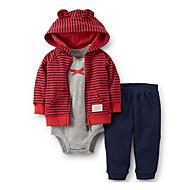 Dijete Uniseks Pamuk Prugasti uzorak Dnevno Izlasci Sva doba Dugih rukava Komplet odjeće Jednostavan Ležerne prilike Red