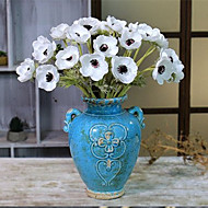 billige Kunstig Blomst-Kunstige blomster 5 Afdeling minimalistisk stil / Europæisk Stil Roser Bordblomst