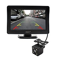 cheap Car Rear View Camera-ZIQIAO 4.3 Inch Monitor and HD Car Rear View Camera