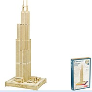 cheap -Wooden Puzzles Model Building Kits Wood Model House Sears Tower / Willis Tower Masquerade Birthday Valentine's Day Fashion High Quality 5