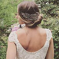 Legering Hair Combs med Perle 1pc Bryllup / Fest / aften Medaljon