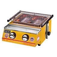 גריל לקמפינג כיריים בעירה לקמפינג ציוד בישול לחוץ מבודד חום פלדת על חלד ל קמפינג