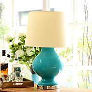 billige Lamper-Moderne / Nutidig Bordlampe Til Soverom Keramikk 220V Hvit