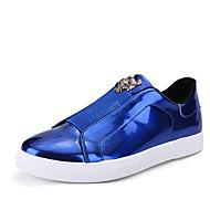 男性用 靴 チュール 春 / 秋 ファッションブーツ スニーカー ブラック / シルバー / ブルー