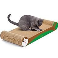 baratos -Brinquedo Para Gato Brinquedos para Animais Desenho Artístico Papel e Artesanato de Papel Estampados de Arte Multi-Côr Tapete de Arranhar