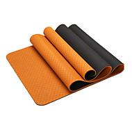 cheap Yoga Mats, Blocks & Mat Bags-Yoga Mats Odor Free Eco-friendly Non-Slip Waterproof Quick Dry Non Toxic Sticky TPE (1/3 inch) 8 (1/4 inch) 6 (1/6 inch) 4 mm for