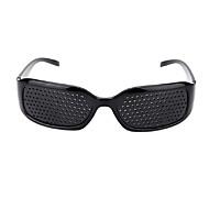 billige Kontor Nødvendigheter-pinhole solbriller anti-tretthet synlighet pin hull hul mikroporøse briller øye trening anti-myopi