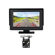 billiga Parkeringskamera för bil-renepai® 4,3 tums bildskärm + trådlös 170 ° hd bil backkamera + HD- vidvinkel vattentät CMOS kamera