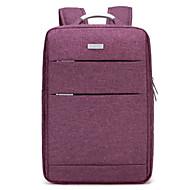 tanie Plecaki-Męskie Torby Tkanina Oxford plecak Zamek Black / Purple / Light Gray