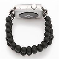 billiga Smart klocka Tillbehör-Klockarmband för Apple Watch Series 3 / 2 / 1 Apple Smyckesdesign Trä Handledsrem