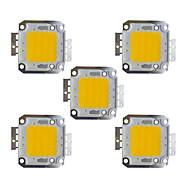 billige belysning Tilbehør-5pcs 2400 lm Bulb Accessory Messing Led Brikke 30 W