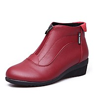 billige Moderne sko-Moderne sko Syntetisk Mikrofiber PU Joggesko Lav hæl Kan spesialtilpasses Dansesko Hvit / Svart / Rød