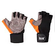billige Sportsstøtter-Hånd- og håndleddstøtte til Dykking Arbeide Vektløfting barbell Vekt Unisex Beskyttende Mikrofiber Fiber Oransje