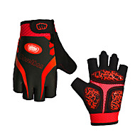 cheap -Sports Gloves Bike Gloves / Cycling Gloves Sports Gloves Wearable Breathable Anti-Shock Fingerless Gloves Lycra Road Cycling Outdoor